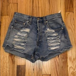 MINKPINK Jean shorts